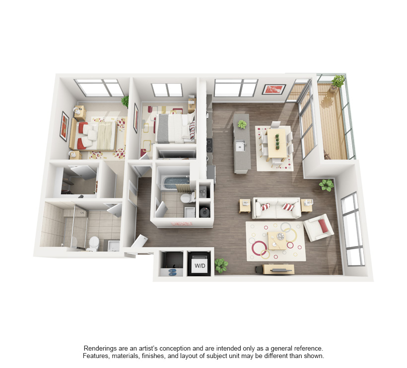 Michigan 3D Floor Plan Rendering